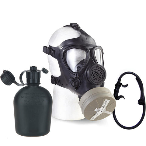 Israeli M15 Gas Mask with Nato Filter and Canteen