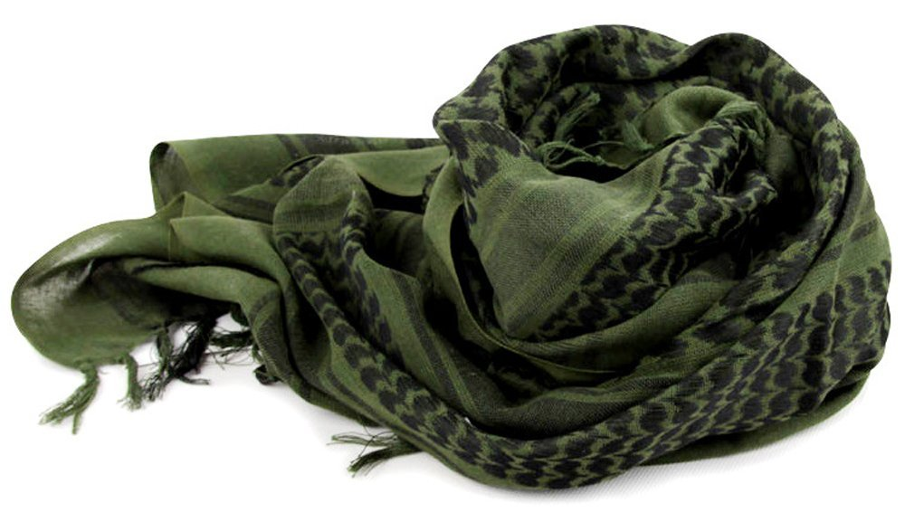 Acme Approved 100% Cotton Military Shemagh Tactical Keffiyeh Head Neck Scarf Arab Wrap