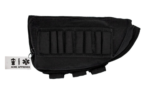 Acme Approved Rifle Buttstock Cheek Rest Ammo Pouch