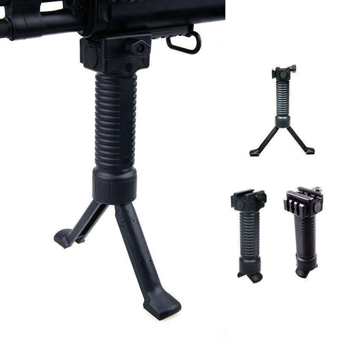 Rifle Fore Grip Bipod Picattinny Weaver Rail System