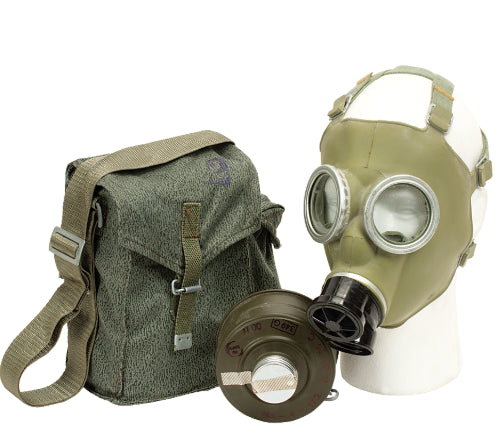 Polish MC-1 Gas Mask with Bag and Filter