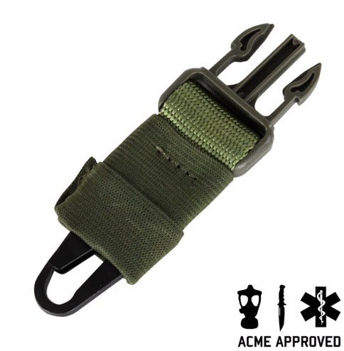 Acme Approved Quick Release HK Clip Adaptor Single Point Clip Gun Sling - Perfect for Hunting, Shooting, and Outdoor Activities