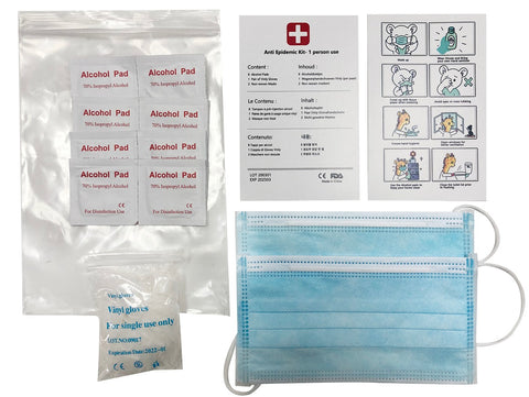 Acme Approved Personal Protective Mask Kit