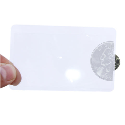 Universal Credit Card Magnifier - 2 Pack