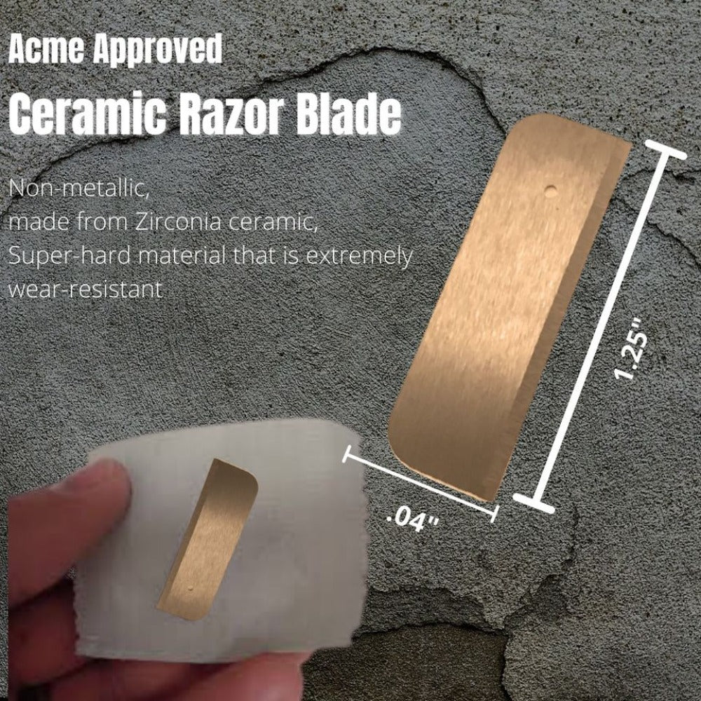 Acme Approved Ceramic Razor Blade