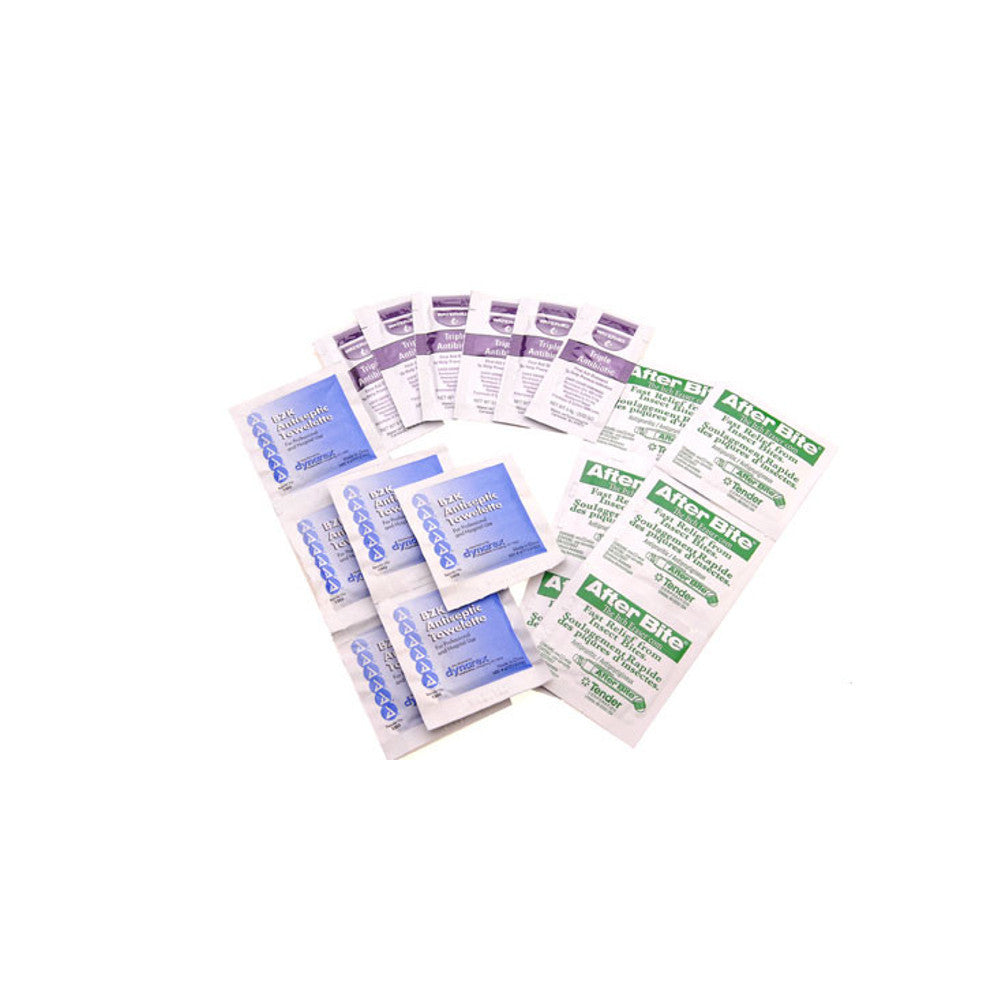 Topical Antiseptics & Ointments First Aid Kit Replacements