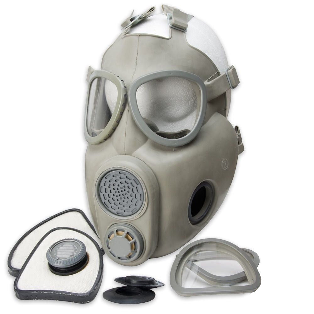 Czech Gas Mask M10 with Filter