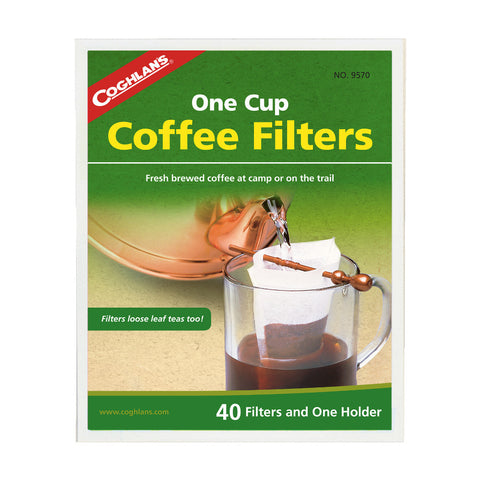 Coghlan's One Cup Coffee Filters