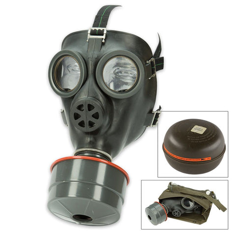 Swiss Gas Mask with Filter and Bag