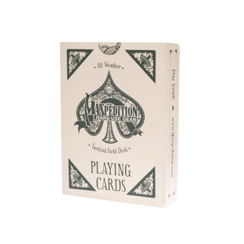 Maxpedition Tactical Weather Proof Playing Cards