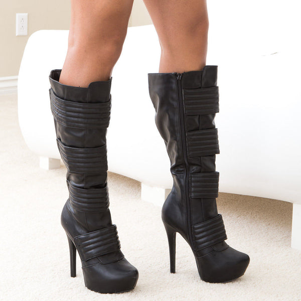divina-20-black-knee hi boots