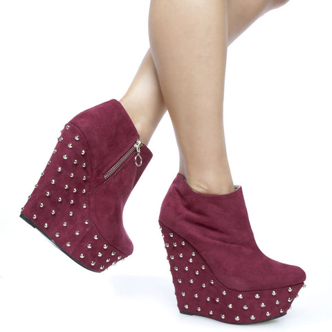Riplay-kristen-01-red-ankle boots