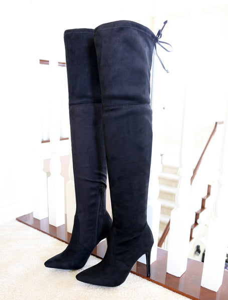 akira-91-black over the knee boots