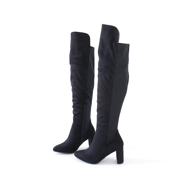 blake-05A stretch over the knee high boots