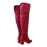 geller-01-wine-suede-over the knee high boots