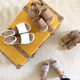 topic off white ankle strap flatform sandal espadrilles