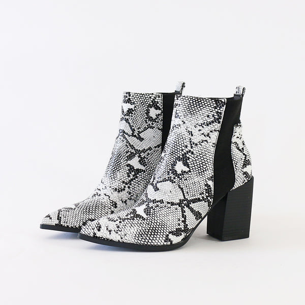 judith-07 vegan leather chelsea ankle boots booties