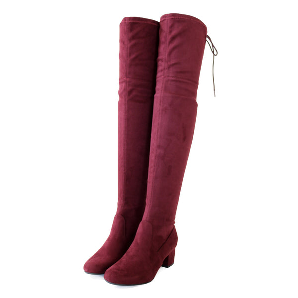 jupiter-vino-micro suede-over knee high boots