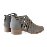 kenning-grey-weaving-faux leather-booties