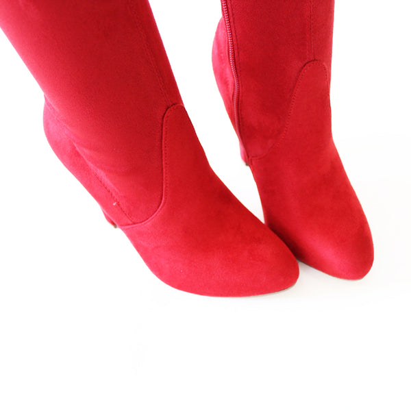 afbda7a4da9 obey-red-over the knee boots – trendyoak