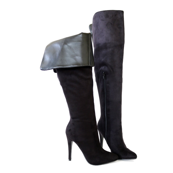 sandra-black-suede-stretch-thigh-high-boots