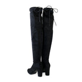 snif-black-over the knee boots-wide calf