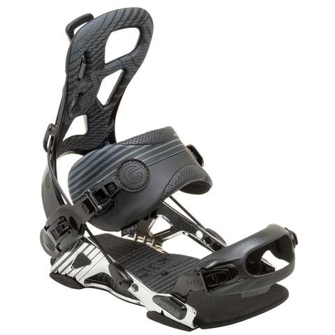 GNU Psych Bindings Black 2015 , Snowboard Bindings - GNU, Concrete Wave