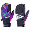 Celtek Trippin Pipe Spaced Out Lobster Claw S / Black/Purple, Gloves/ Mittens - Celtek, Concrete Wave