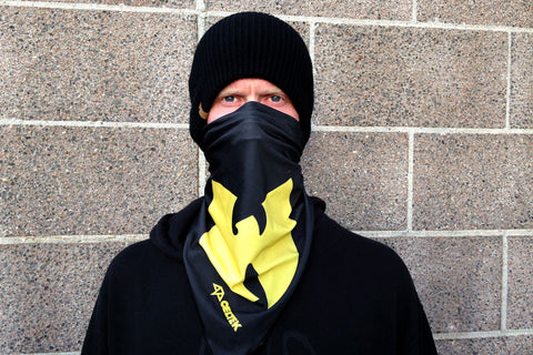 Celtek Altitude Wu Tang Bandana One Size / Black, Facemask - Celtek, Concrete Wave