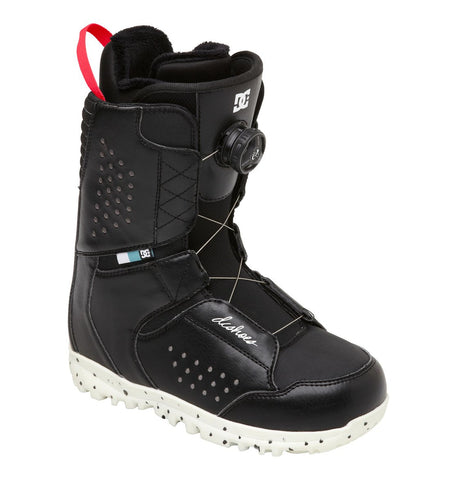 DC Search Boa Boots Black 2014 9, Snowboard Boots - DC, Concrete Wave - 1