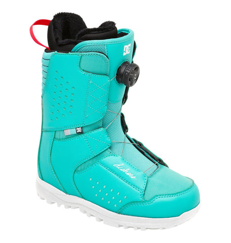 DC Search Boa Boots Teal 2014 9, Snowboard Boots - DC, Concrete Wave - 1