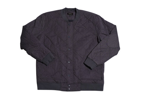 Brixton Ace Jacket Grey , Jacket - Brixton, Concrete Wave