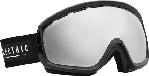 Electric EGB2s Gloss Black Bronze/ Silver Chrome Goggles One Size, Goggles - Electric, Concrete Wave - 1