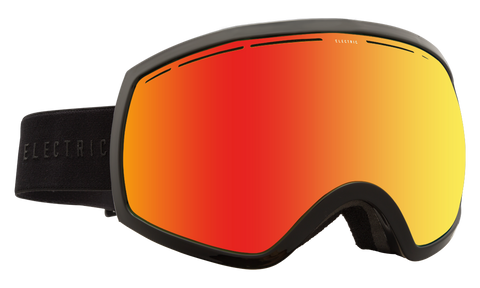 Electric EG2 Gloss Black/ Bronze Red Chrome Snow Goggles 2016 One Size / Gloss Black, Goggles - Electric, Concrete Wave - 1