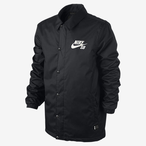 Nike Snowboarding Assistant Coaches Jacket Black , Jacket - Nike Snowboarding, Concrete Wave - 1