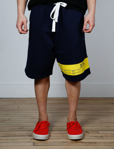 Staple Surrender Shorts Navy , Shorts - Staple, Concrete Wave