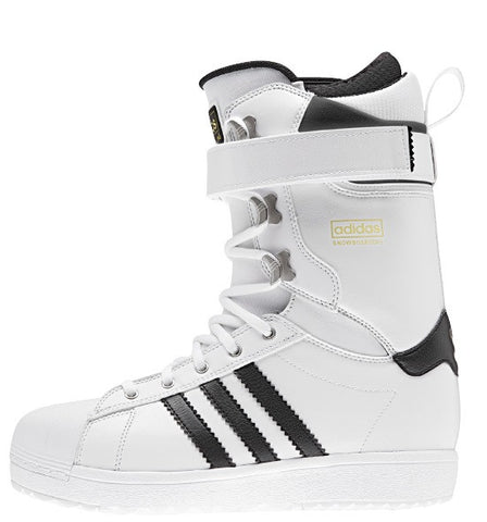 adidas The Superstar Snowboard Boot White/ Black 2016 , Snowboard Boots - Adidas Skateboarding, Concrete Wave