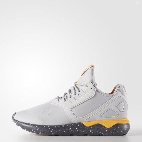 adidas Tubular Runner Clear Grey/ Onix/ Neon Orange Sneakers , Sneakers - Adidas Skateboarding, Concrete Wave - 1