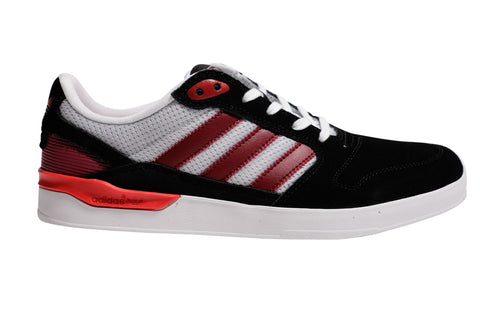 Adidas ZX Vulc Black/ ST Nore/ Scarle 9 / Black/ Grey/ Red, Sneakers - Adidas Skateboarding, Concrete Wave - 1