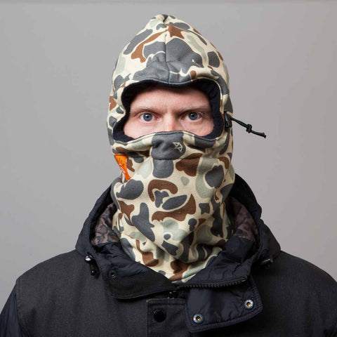 Celtek Hoody Facemask Duck Camo 2016 , Facemask - Celtek, Concrete Wave