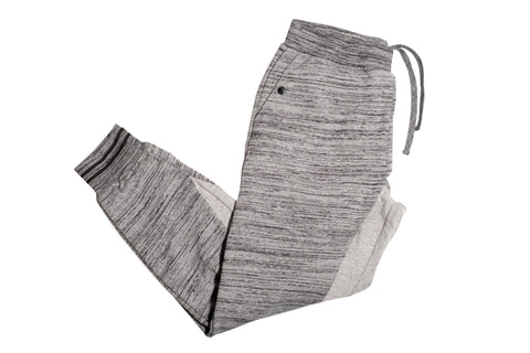 Crooks & Castles Aki Heather Grey Sweatpants , Bottoms - Crooks & Castles, Concrete Wave - 1