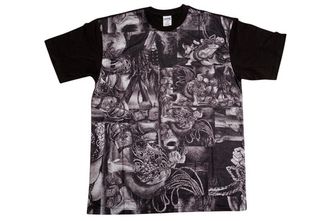 Crooks & Castles Shimura T Shirt , Sweatshirts - Crooks & Castles, Concrete Wave - 1