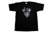 Crooks & Castles Patchwork Black T Shirt , T Shirt - Crooks & Castles, Concrete Wave - 1