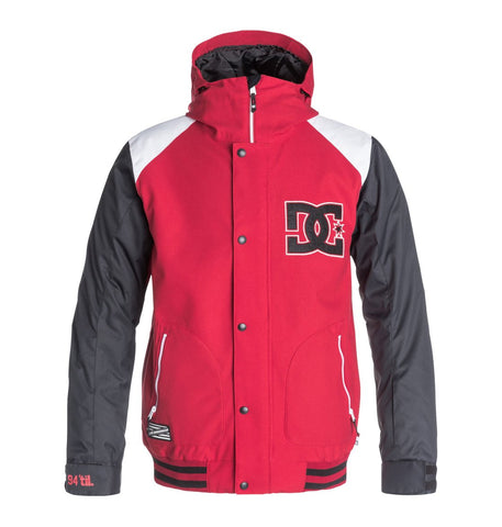 DC DCLA Snowboard Jacket Tango Red 2016 , Jacket - DC, Concrete Wave