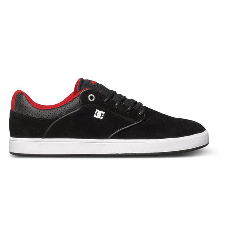 DC Mikey Taylor S Low Top Black/ Athletic Red , Sneakers - DC, Concrete Wave