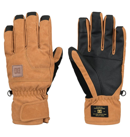 DC Men's Seger Gloves Cathay Spice 2016 , Gloves/ Mittens - DC, Concrete Wave