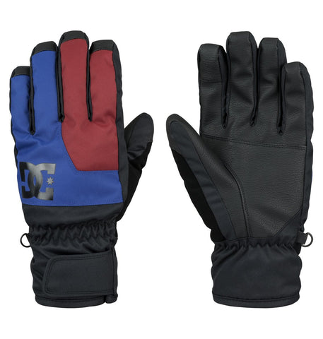 DC Men's Seger Gloves Surf The Web 2016 , Gloves/ Mittens - DC, Concrete Wave