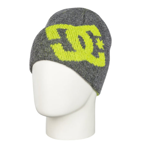 DC Men's Wane Beanie Heather Pewter 2016 , Beanie - DC, Concrete Wave