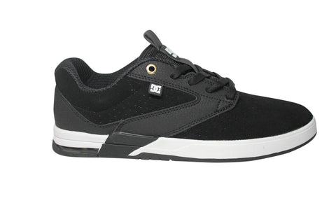 DC Shoe Co Wolf S Black/ White Skate Sneakers 8.5 / Black/ White, Sneakers - DC, Concrete Wave - 1