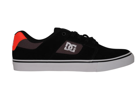 DC Bridge Black / Orange Skateboard Sneakers , Sneakers - DC, Concrete Wave - 1